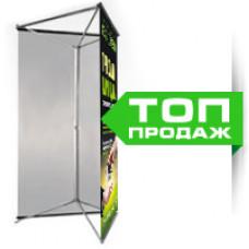 Трехсторонний Баннерный Стенд 90x212